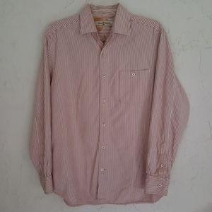 Tommy Bahama Men's Long Sleeve Silk Blend shirt S